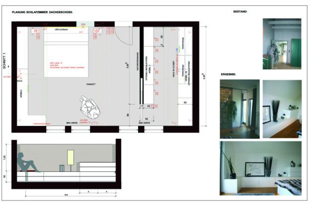 Planung Schlafzimmer/Ankleide